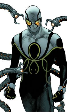 Superior Octopus (Otto Octaviu) by Stuart Immonen