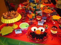 Sesame Street 2nd Birthday Party | CatchMyParty.com