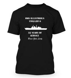 HMS ILLUSTRIOUS TRIBUTE - Fabrily Hms Illustrious, Mens Tops, T Shirt, Fashion, Supreme T Shirt, Moda, Tee Shirt, Fashion Styles, Fashion Illustrations