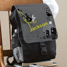Rockin' Personalized Backpack