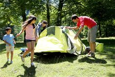 What better way to experience some of the country's most iconic destinations and hidden gems than to camp in their midst? At these 10 family-friendly camp