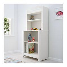 HENSVIK Cabinet with shelf unit, white - white - IKEA