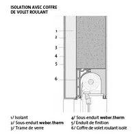 Points singuliers et carnets de détails pour une Isolation Thermique par l'Extérieur - Weber, colle carrelage, enduit façade, ragréage sol, rénovation façade