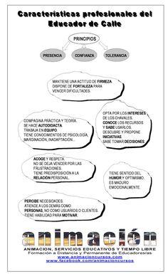 caracteristicas profesionales del #educador de #calle
