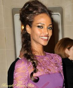 """YASMIN WARSAME---She has the """"typical Indian phenotype""""."""