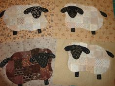 quilting Jeanne: sheep tutorial and template