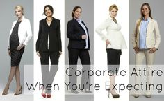 Here are five great outfits for interviewing while pregnant. Feel free to wear with flats as well.