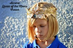 Disney's Maleficent and DIY Queen of the Moors Crown Tutorial