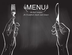 Vector hands holding a knife and fork Pr. Food Graphic Design, Food Menu Design, Restaurant Menu Design, Food Background Wallpapers, Food Backgrounds, White Studio Background, Poster Background Design, Bakers Menu, Vector Hand