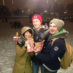 Great times with great friends. And great pastries! #beavertails Instagram photo by @Jean Rose Donner (Jack Donner)