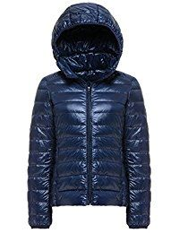 Women's Package Down Jacket Women Hooded Ultra Light Weight Short Down Coat - Navy - - Outdoor Clothing, Women, Jackets & Coats, Down & Down Alternative # # # Women Of Faith, Vest Outfits, Armada, Jackets For Women, Clothes For Women, Outdoor Woman, Down Coat, Outdoor Outfit, Work Casual