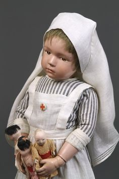 Schoenhut nurse doll