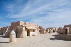 "Abandoned Star Wars ""Tatooine"" Set in the Sahara Desert, Tunisia"