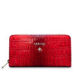 BARADA Skórzany portfel czerwony http://torebki.pl/barada-skorzany-portfel-czerwony.html