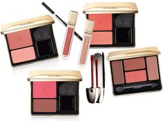 Fall Guerlain is here! Think: Pure romance. Femininity re-invented. Shades range from barely-there beige to rich plum. Vibrant blush duos add natural highlight and gentle contour. Eyes are washed in warm tones of orange and brown. (212 872 2734)