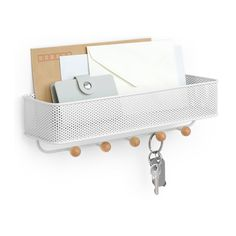 Amazon.com: Umbra Estique Entry Organizer, White: Home & Kitchen