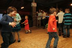 Children dance to the Bruno's Boys band at the annual St. Patrick's Day Party at the Fricano Event Center in downtown Muskegon on Saturday, March 8, 2014.| MLive.com