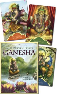 Whispers of Lord Ganesha Oracle Deck - 50 Cards & Guidebook Pagan Witch, Wiccan, Tarot Cards Major Arcana, Divination Cards, Free Shapes, 27th Birthday, Tarot Card Decks, Elephant Head, Decks