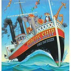 preschool circus lesson-fun based on this book Circus Ship