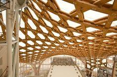 Interior del museo de arte moderno y contemporáneo situado en Metz, #Francia. @PompidouMetz