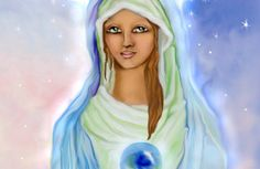 Sacred Feminine Art, Candles and Spiritual Gifts by Montserrat Spiritual Connection, Goddess Art, Sacred Feminine, Spiritual Gifts, Rose Art, Our Lady, Disney Characters, Fictional Characters, Aurora Sleeping Beauty