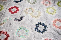 Image of City Tiles Quilt - PDF pattern