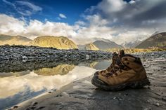Hiking in New Zealand by Frapsoft Photography on New Zealand, Mount Everest, Hiking Boots, Mountains, Nature, Photography, Travel, Naturaleza, Photograph