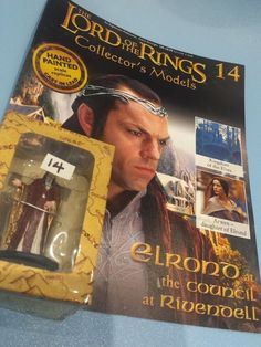 Collectors Hand Painted Lead Model Magazine LOTR Eaglemoss 14 Elrond in Collectables, Fantasy/ Myth/ Magic, Lord of the Rings/ Tolkien   eBay