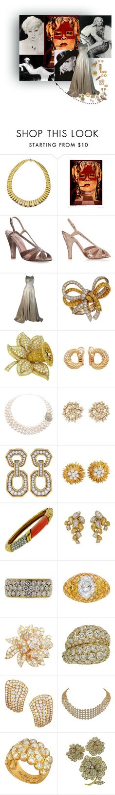 """""""Mae West"""" by oxana-ferrari ❤ liked on Polyvore featuring Van Cleef & Arpels, mae, Valentino and Helen Rose"""