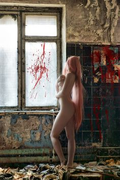 "Elfen Lied #anime #cosplay Ah, sorry I left this in my board ""ANIME GUYS"" Hahaha...ah... I'll just leave it~ cause I'm lazy."