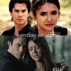 Delena!!! I ship them so much. If they would have actually married in real life the fandom would have been too real to live with. lol