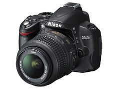 Nikon D3000 10.2MP Digital SLR Camera with 18-55mm f/3.5-5.6G AF-S DX VR Nikkor Zoom Lens: Camera & Photo