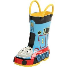Western Chief Thomas the Tank Engine Rain Boot (Toddler/Little Kid/Big Kid) - designer shoes, handbags, jewelry, watches, and fashion accessories   endless.com