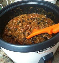 Rice Cooker Recipe: Chicken Chili Recipe