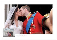 """Fotografias históricas tranformadas em selfies - A agência Lowe Cape Town criou uma campanha espetacular para um jornal da África do Sul, onde imagens históricas são modificadas para parecerem com selfies. O slogan da campanha, traduzido, é: """"Você não poderia estar mais perto das notícias""""."""