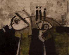 """""""Pintura_116"""" Oil+Mixed 41x33cm. / Bernardo Guerra"""