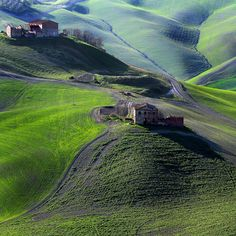 Val d'Orcia, Province of Siena, Tuscany region, Italy Places Around The World, The Places Youll Go, Travel Around The World, Places To See, Wonderful Places, Great Places, Beautiful Places, Felder, Tuscany Italy