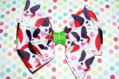 Hey, I found this really awesome Etsy listing at https://www.etsy.com/listing/158103848/cute-boston-terrier-bow
