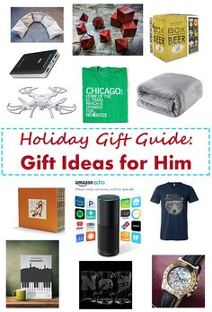 Holiday Gift Guide: Gift Ideas for Him | http://www.roseclearfield.com