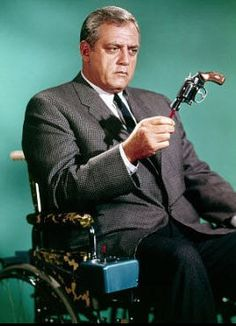 Ironside.....Raymond Burr starring as Chief of Detectives, Robert T. Ironside.
