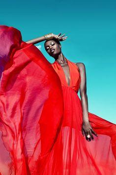 FAB Editorial: Stunning Colour by Franziska Nettel for Moga Magazine: