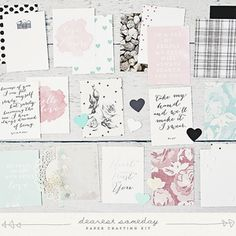 love notes paper crafting kit