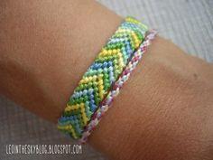 ¿Te gustan las pulseritas de hilo? Estas se llaman friendship bracelets: ¡Las pulseras de la amistad! ¿Ya sabes a qué amigo se la quieres regalar? :) ¡Aprende a hacerlas con este tutorial!