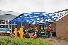 Outdoor School Dining Canopy by Broxap