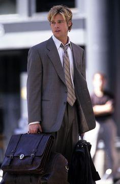 Brad Pitt  looked especially hot on the NYC set of  Meet Joe Black  in June 1997.