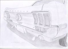 Classic Car Drawings : Photo