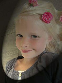 Mijn mooie jongste dochter