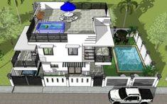 2 Storey w/ Roofdeck & Pool - House Designer and Builder