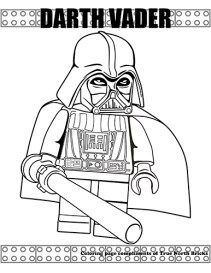 Lego Coloring Pages Darth Vader Lego Coloring Pages, Preschool Coloring Pages, Coloring Pages For Kids, Coloring Books, Kids Coloring, Star Wars Darth Vader, Lego Star Wars, Star Wars Stencil, Inside Out Emotions