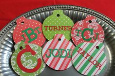 Custom Personalized Christmas Ornament  by MagnoliaMommyMade
